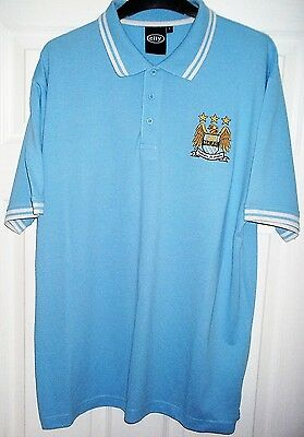 Manchester City FC - Football/Soccer Shirt/Jersey - MCFC - Adult - Large - L