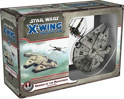 X-Wing Miniatures Game - Heroes Of The Resistance Expansion Pack Bnib