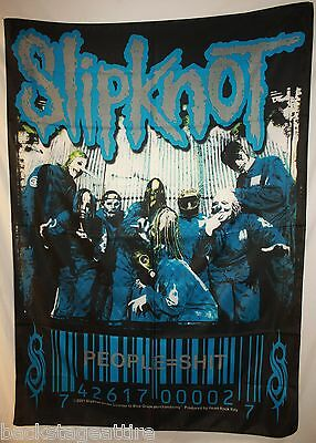 Slipknot People=Sh*t Cloth Fabric Textile Poster Flag Banner Art-New-Paul Gray