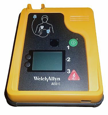 WELCH ALLYN AED10 with Case Battery Pads