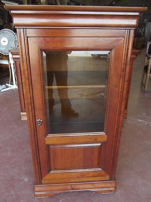 French Louis Philippe Cherry Wood Bookcase Display