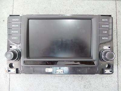 Volkswagen Golf Radio/cd/dvd/sat/tv Display Screen, Non Sat Nav Type, Gen 7, 04/