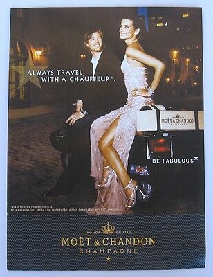 Moet & Chandon ad Clipping Magazine 2007
