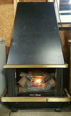 Arvin Vintage Retro Electric Midcentury Modern Fireplace Eames Heater Miller