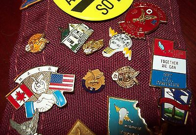CHOICE F.O.E. pins - Fraternal Order of Eagles - you're choice
