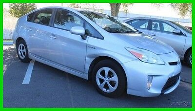 2013 Toyota Prius Two 2013 Two Used 1.8L I4 16V Automatic FWD Hatchback
