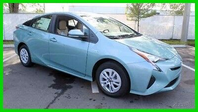 2016 Toyota Prius Two 2016 Two New 1.8L I4 16V Automatic FWD Hatchback