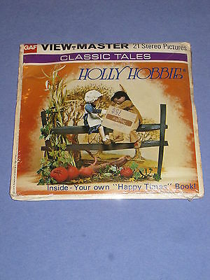 Classic Tales Holly Hobbie Gaf Viewmaster Reels w/ Booklet Set - A B344 - 1976