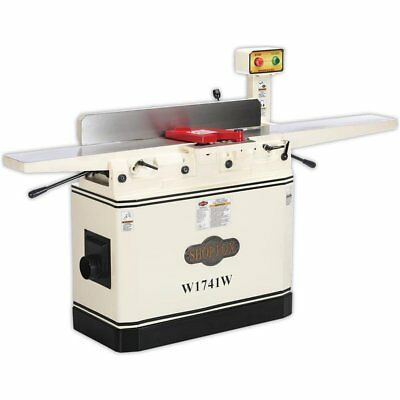 """Shop Fox W1741W 8"""" Jointer with Adjustable Beds and Magnetic Switch"""
