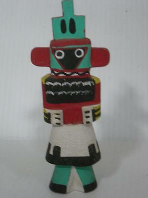 Vintage Hopi Indian Highway Route 66 Whipper Kachina - Fabulous Tableta - Old !