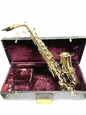 Antique Early 1900s Lyon Healy American Professional Chicago SAXOPHONE 17343
