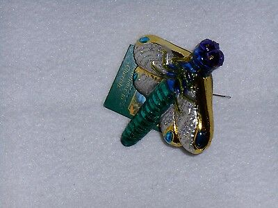 Old World Christmas Ornament DRAGONFLY