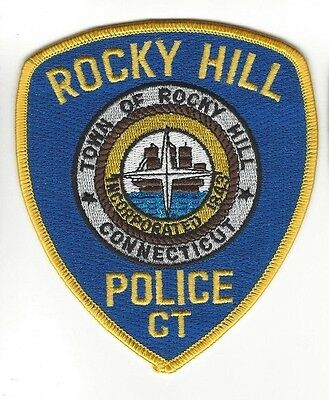 Town of Rocky Hill CT Connecticut Police Dept. LEO patch - NEW!