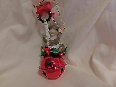 Charming Tails Baby Bell Rattle Ornament Dean Griff(66)