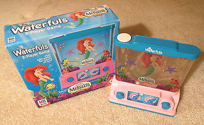 Tomy Waterfuls - THE LITTLE MERMAID - Water Action Game - With Original Box