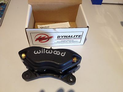 "WILWOOD DYNALITE 4 SPOT CALIPER'S X 2 BLACK 13""X.81 WB 120-6806 and pads to suit"