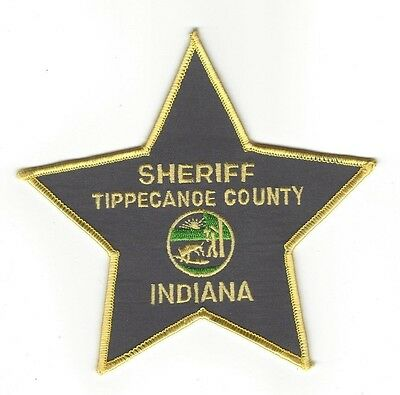 Tippecanoe County IN Indiana SHERIFF patch - NEW!