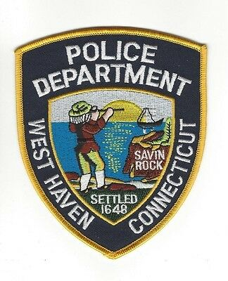 West Haven CT Connecticut Police Dept. LEO patch - NEW!