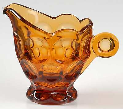 Imperial Glass Ohio PROVINCIAL AMBER Creamer 237605