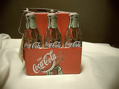 Vintage 2001 Coca Cola Lunchbox Tin-new with tag/perfect condition