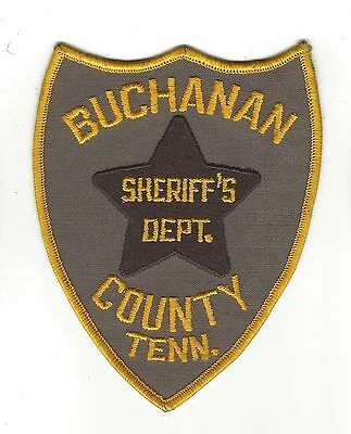 Buchanan County TN Tennessee Sheriff's Office Dept. LEO patch - NEW!