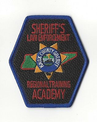 Knox Co Sheriff TN Tennessee Law Enforcement Regional Training Academy patch NEW