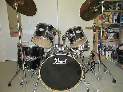 Pearl Vision VSX Pinestrips 6 pcs Drum Kit