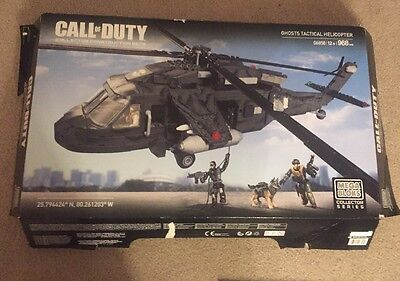 Call Of Duty Mega Bloks Ghosts Tactical Helicopter #06858