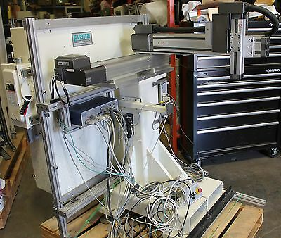 Adept Cartesian xyz robot system with vision CX controller Made in USA on frame