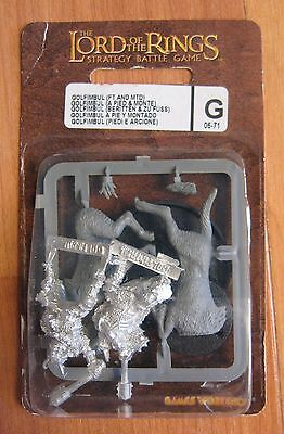Golfimbul FT & MTD 06-71G LOTR Lord of the Rings Games Workshop new