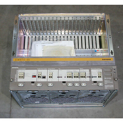 Siemens 6ES5188-3UA21 Rack/Chassis for S5-135U/-155U - New Surplus Open