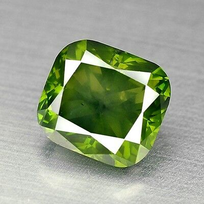 FIERY 1.30 Cts FANCY SPARKLING BEST GREEN COLOR NATURAL LOOSE DIAMONDS