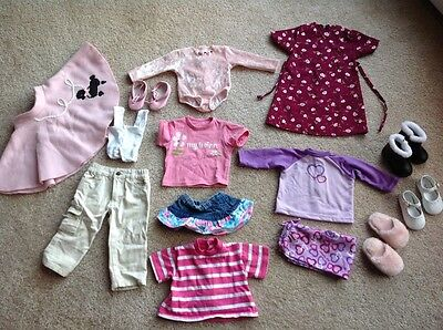 Lot of 14 Pc *My Twinn* Doll Clothes Shoes