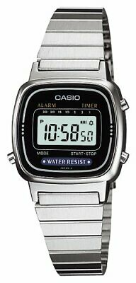 CASIO Standard  Silver Ladies Watch LA-670WA-1JF