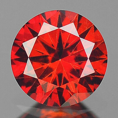 FIERY 0.54 Cts WOW SPARKLING AAA FANCY RED COLOR NATURAL LOOSE DIAMONDS