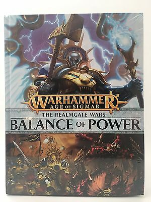 The Realmgate Wars Balance of Power HC Age of Sigmar AOS Games Workshop