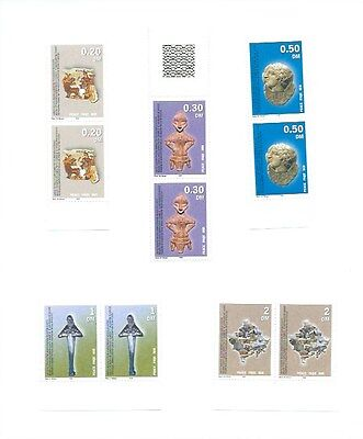 Kosovo stamps - UN Interim Administration 1st Issue 2000 Complete Set Mint MNH