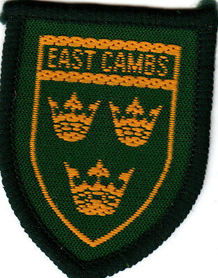 Boy Scout Badge Ext EAST CAMBS County