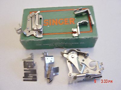 Singer Sewing Machine Spares In Original Box. See Photo's