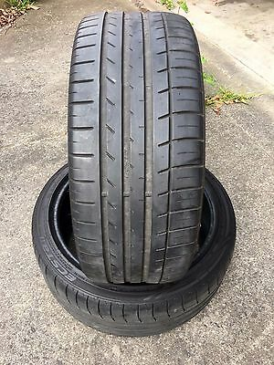 75% 225/40/18 Kumho Ecsta LE Sport - Used Second Hand Tyres Tires