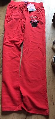 Girls Minnie Mouse Disney Joggers Age 10 Next Day Post Brand New
