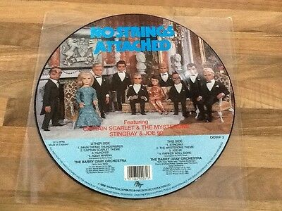 """The Barry Gray Orchestra No Strings Attached 12"""" Picture LP"""