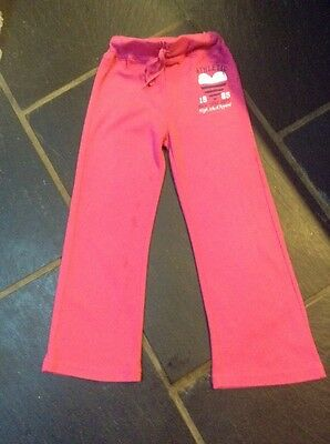 Cute Pink Tracksuit Bottoms 5-6 Yrs