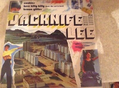 "Jackknife lee - cookies - great condition uk -2"" vinyl"