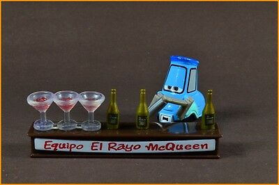 Disney Pixar Cars 1:55 DIECAST Guido with Shaker and Glasses Mattel