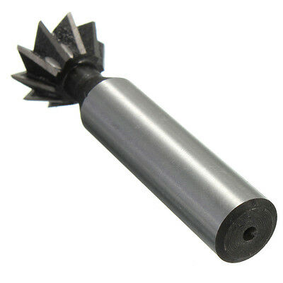 """20mm 3/4""""x60 Degree HSS Dovetail Cutter Milling Metalworking Tool Useful"""