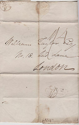 1797 Fancy Kelso Cancel On Wrapper Mailed To William Taylor In London England