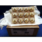 12 X Royal Navy 24Mm Gold Naval Buttons