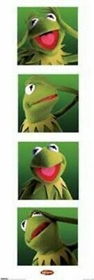 """Kermit The Frog Door Poster """"1.5 Meter Tall"""" Licensed """"brand New"""" The Muppets"""