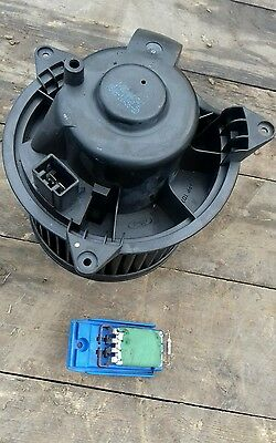 Ford focus mk1 heater blower motor and resister